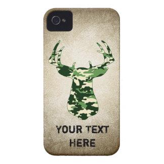 Deer Hunting Camo Buck iPhone 4 Cover