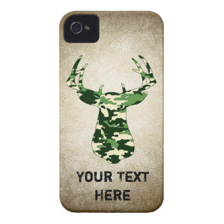 Deer Hunting Camo Buck iPhone 4 Covers