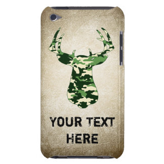 Deer Hunting Camo Buck iPod Touch Cases