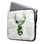 Deer Hunting Camo Buck Laptop Computer Sleeve