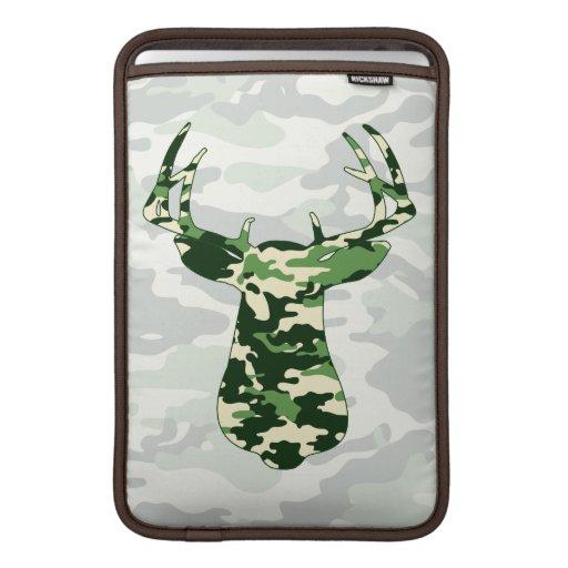 Deer Hunting Camo Buck MacBook Air Sleeves