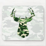 Deer Hunting Camo Buck Mouse Pad