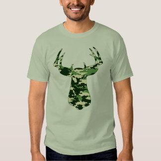 Deer Hunting Camo Buck T Shirt