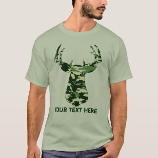 Deer Hunting Camo Buck T-Shirt