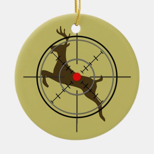 Deer Hunting Christmas Ornament