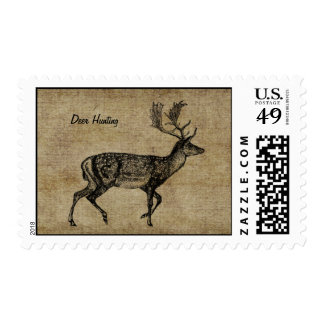 Deer Hunting Customizable Postage