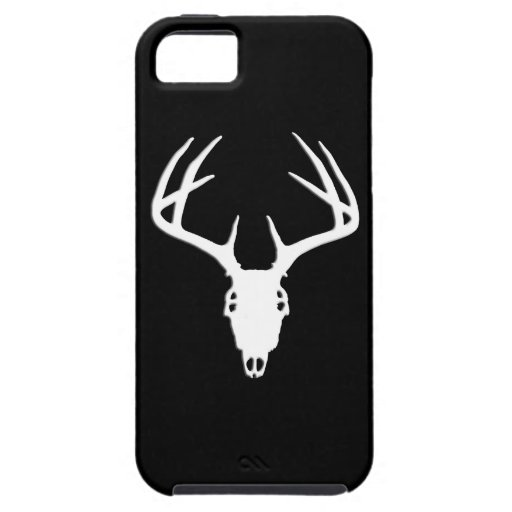 Deer Skull Silhouette