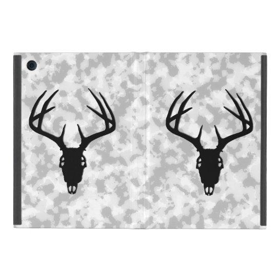 Deer Hunting - Deer Skull Silhouette iPad Mini Case