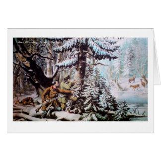 Deer  Hunting Greeting Card