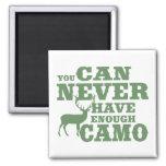 Deer Hunting Humor Camouflage Magnets