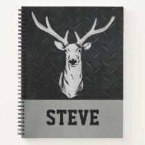 Deer Hunting Men's Name Modern Notebook
