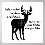 Deer Hunting Poster