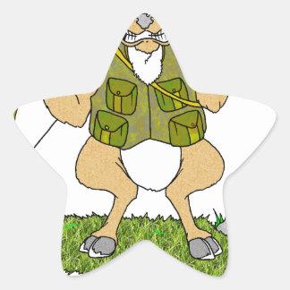 Deer Hunting Revenge Star Sticker