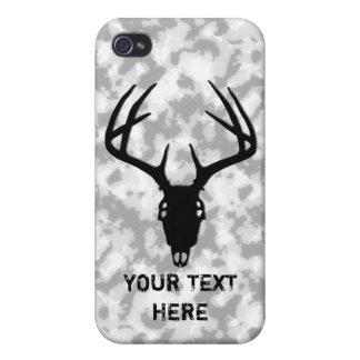 Deer Hunting Skull Case For iPhone 4