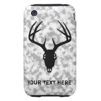 Deer Hunting Skull iPhone 3 Tough Case