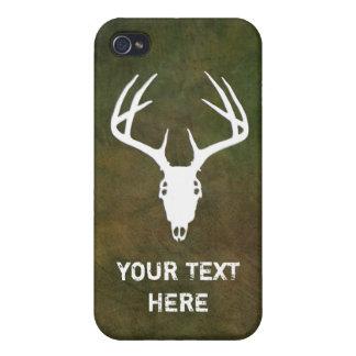Deer Hunting Skull iPhone 4 Covers
