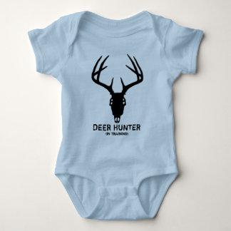 Deer Hunting Skull w/ Antlers Baby Bodysuit