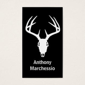 Deer Hunting Skull w/ Antlers Business Card