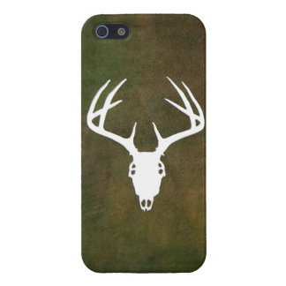 Deer Hunting Skull w/ antlers Case For iPhone SE/5/5s