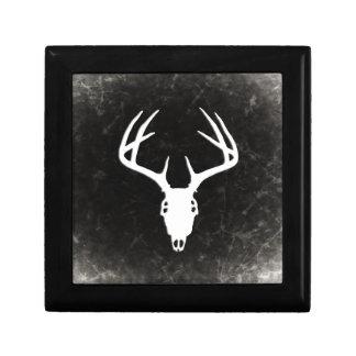 Deer Hunting Skull w/ Antlers Trinket Boxes