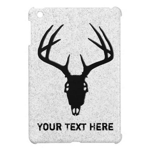 Deer Hunting Skull w/ Antlers iPad Mini Cases