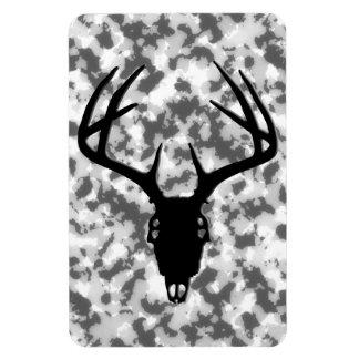 Deer Hunting Skull w/ Antlers Magnet