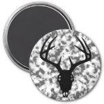 Deer Hunting Skull w/ Antlers Magnets