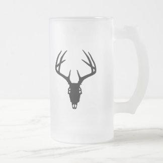 Deer Hunting Skull w/ Antlers Mugs