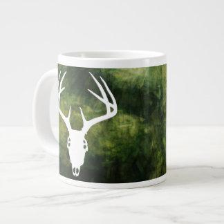 Deer Hunting Skull w/ Antlers Extra Large Mugs