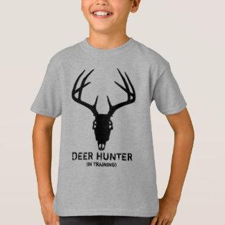 Deer Hunting Skull w/ Antlers T-Shirt