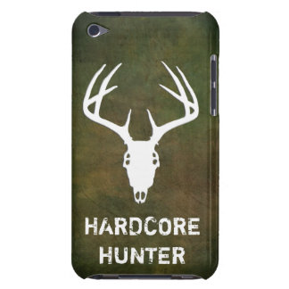 Deer hunting skull with antlers barely there iPod case