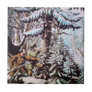 Deer Hunting Tile