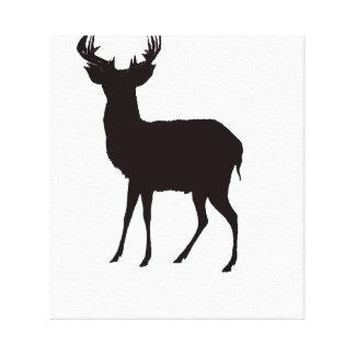 deer image on convas canvas print