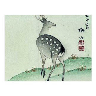 Deer in Autumn Ukiyoe Postcard