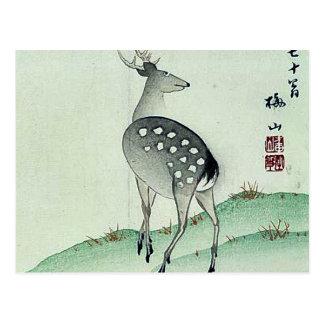 Deer in Autumn Ukiyoe Postcard
