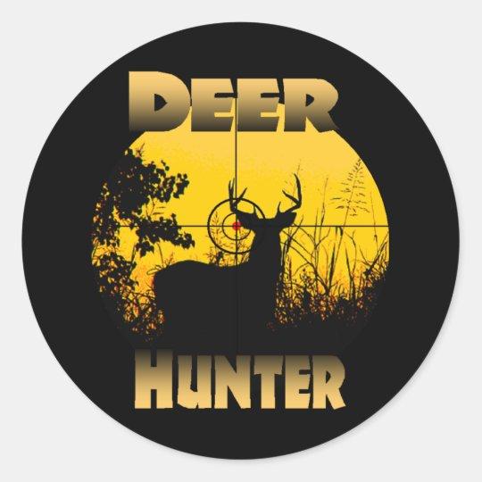 Deer In Cross Hairs Sticker