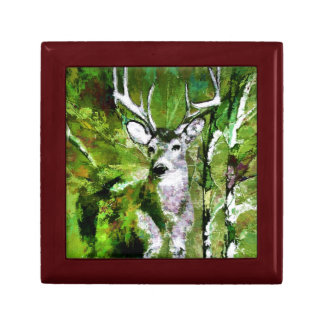 Deer in Fall Colors Jewelry Box