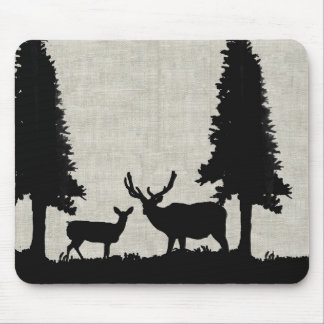 Deer in Forest Mouse Pads