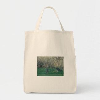Deer In Late Autumn Tote Bag