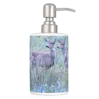 Deer in Meadow Bath Set