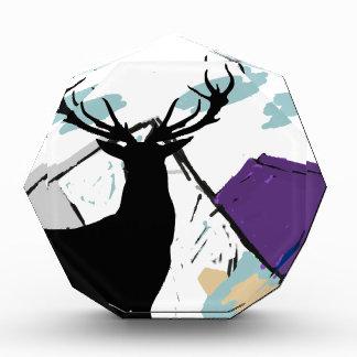 Deer in mountains award