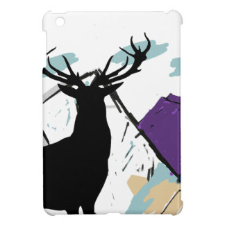 Deer in mountains case for the iPad mini