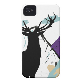 Deer in mountains iPhone 4 cases