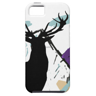 Deer in mountains iPhone SE/5/5s case