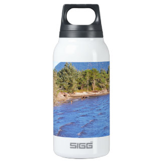 Deer in Nehalem Bay - Oregon State Park Insulated Water Bottle