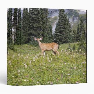 Deer in Paradise Park 3 Ring Binder