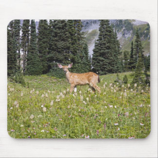Deer in Paradise Park Mouse Pad