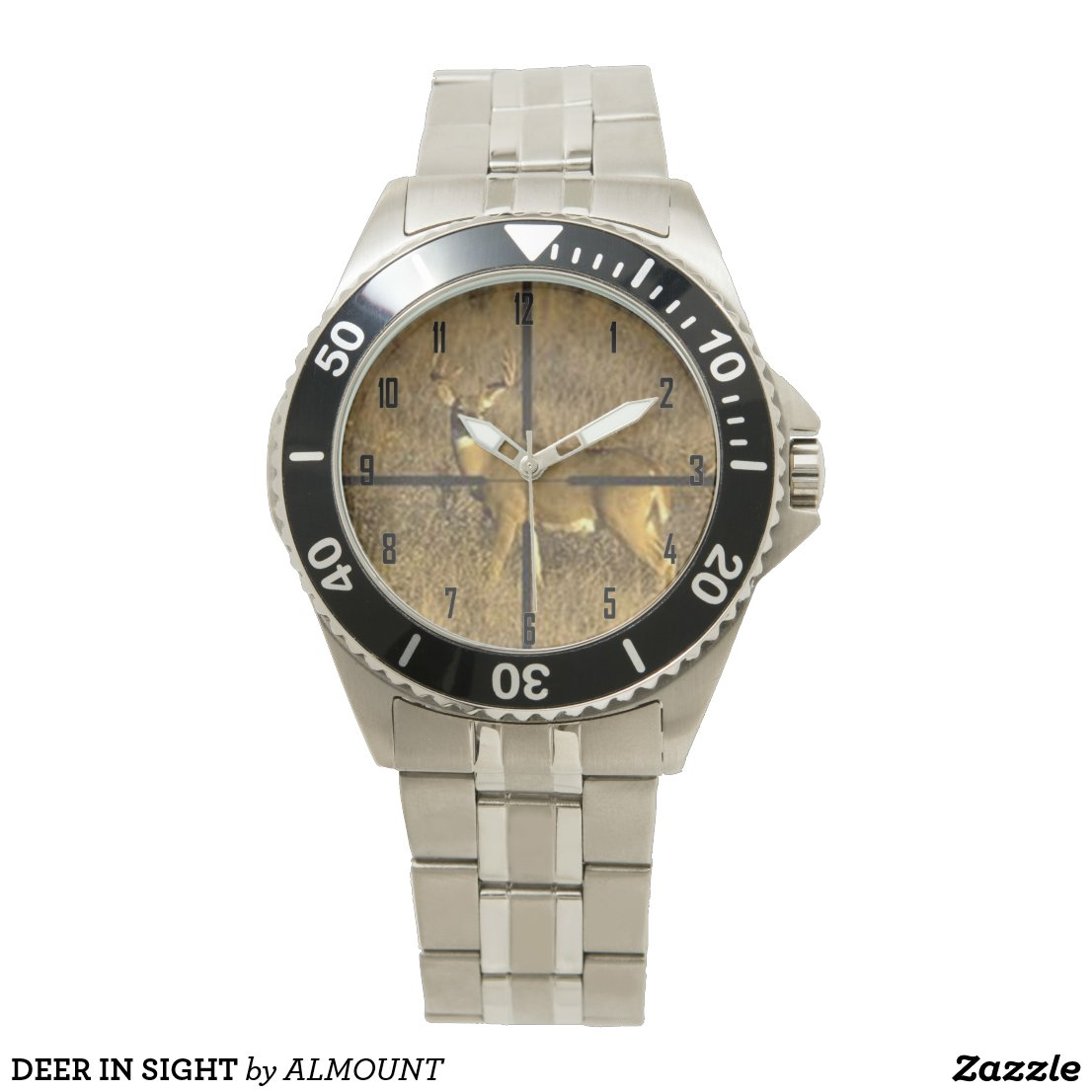 DEER IN SIGHT WRISTWATCH