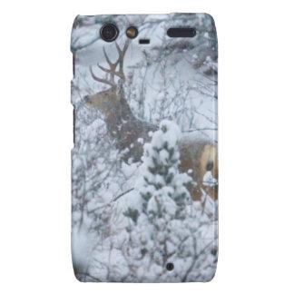 Deer in Snow Droid RAZR Case