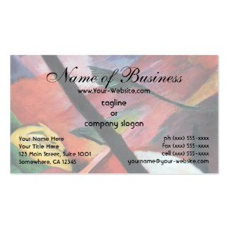 Deer in the Forest II by Franz Marc; Reh im Walde Business Card
